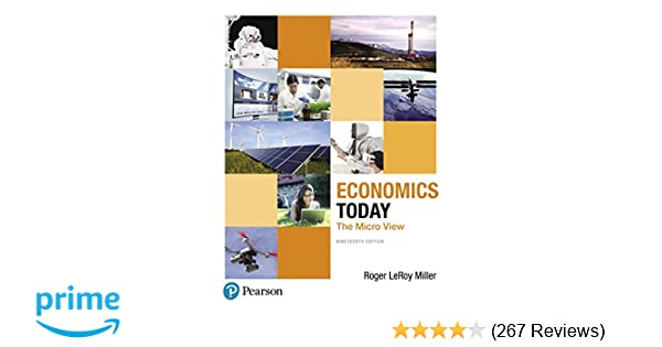Economics today the micro view 19th edition pearson series in economics today the micro view 19th edition pearson series in economics 9780134479255 economics books amazon fandeluxe Images