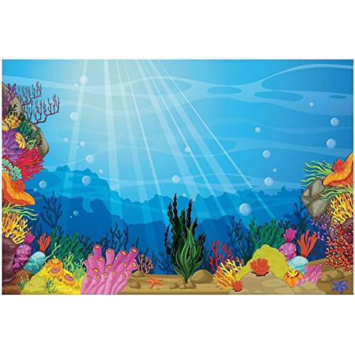 Fun Express Under The Sea Backdrop Banner 9ft x -