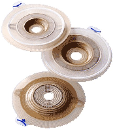 Stoma Medium Coupling (Coloplast Assura AC Easiflex Two-Piece Pre-Cut Convex Light Standard Wear Skin Barrier with Flange and Belt Tabs 1-3/8