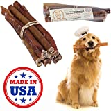If you want the best for your pet, then look no further! Treat him to ultra premium, super thick, long lasting, bully sticks that are specially prepared for your pet by a classically trained French Chef. Wag Haus Bully Sticks are made for picky dog m...