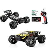 RC Car, Remote Race Car Monster Truck S912 High Speed Off-Road 33+MPH 1/12 Scale Full Proportional 2.4Ghz 2WD (Yellow)