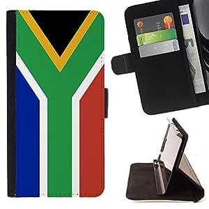 Kingstore / - La bandera de País de Sudáfrica - Sony Xperia Z2 D6502