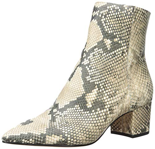 (Dolce Vita Women's BEL Ankle Boot, Snake Print Embossed Leather, 8.5 M)