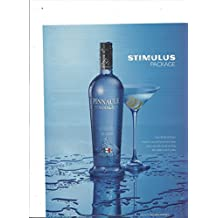 PRINT AD For 2009 Pinnacle Vodka Stimulus Package