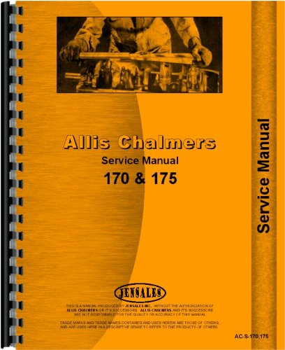 Download Allis Chalmers Tractor Service Manual (AC-S-170,175) PDF