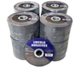 500 Pc 4.5''x.040''x7/8'' Cut-Off Wheels Lincoln Abrasives Metal & Stainless Steel