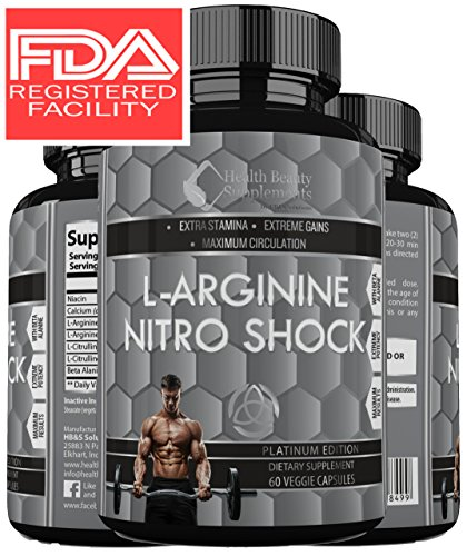 [* MUSCLE PHASE L-ARGININE NITRO SHOCK PLUS * Advanced Formula Enhances Muscle Growth – Increase Stamina & Energy – Unsurpassed Bio-Availability Maximum Blood Circulation - With Beta] (Milk Woman Costume)