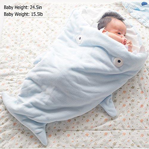 Baby Sleeping Bag Sleep Sack Greforest Cartoon Shark