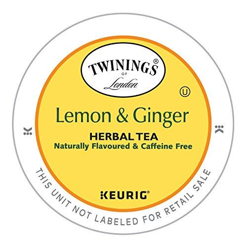 Twinings Lemon Ginger Herbal K Cups product image