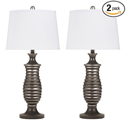 Merveilleux Ashley Furniture Signature Design   Rory Table Lamps   Contemporary   Set  Of 2   Antique