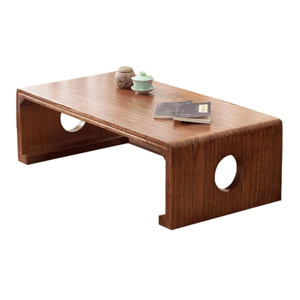 Brown 504030cm Coffee Tables Side Table Study Desk Tea Table Living Room Sofa Table Bedroom Bay Window Table Balcony Tea Table Wooden Low Table Garden Square Table (color   Brown, Size   50  40  30cm)