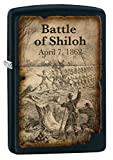 Zippo Lighter: Civil War, Battle of Shiloh - Black Matte 77274