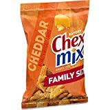 Chex Mix Cheddar Savory Snack Mix, 8 Pack, 15 oz