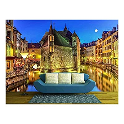 Palais De Lile Jail and Canal in Annecy Old City France HDR, Classic Design, Marvelous Expertise