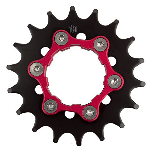 Origin8 Ultim8 Single Speed Cassette Cog w/ 6b Disc Mount, 18t x 3/32