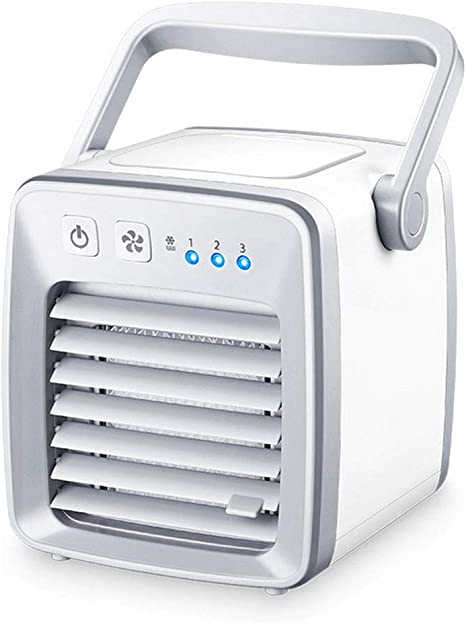 GHH Climatizador Evaporativo, Aire Acondicionado Portátil, 3-en-1 ...