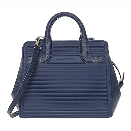 Duck Bag Blue fabric leather Mandarina Female You and P10SET0221U Owddqv