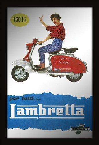 Amazon.com: Póster de Lambretta de 8.7 in x 12.6 in.: Home ...
