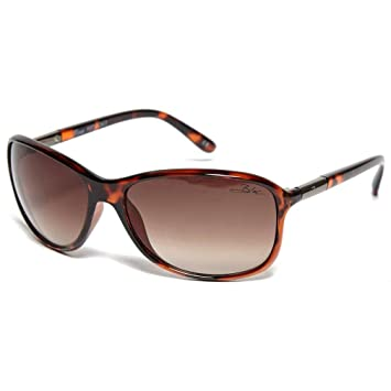Brown Gradient F373  WARRANTY BEE womens Sunglasses Brown Tortoise BLOC