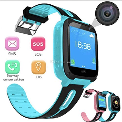 Etuoji Children Kids Smart Watch Phone with Free SIM Card Waterproof Activity GPS Tracker Watch Antilost Waistband