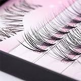 8/10/12/14mm Natural Makeup Individual Eyelash Extension Cosmetic False Eyelashes Cluster (10mm)