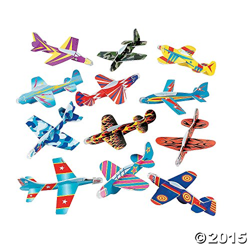 Bulk Glider Airplane Assortment (72 pc) by Fun Express