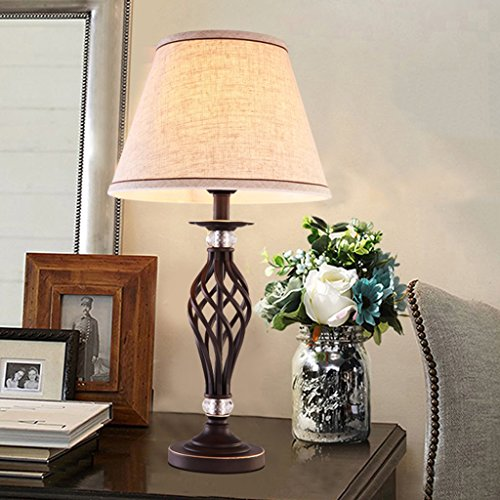 Amazon.com: DEI QI Table lamp Study Bedroom Living Room ...