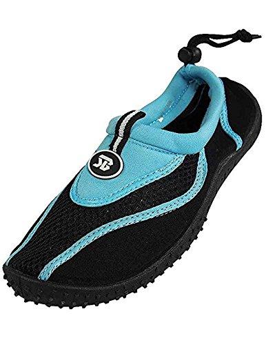 Womens Water Shoe Aqua Sock Blue 37356-6B(M)US