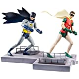 DC Comics Classic TV Series Batman and Robin Action Figure (Discontinued by manufacturer)