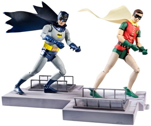 DC Comics Classic TV Series Batman and Robin Action Figure