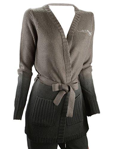 Ed Hardy Tiger Rhinestone Cardigan Sweater - ()