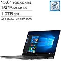 Dell XPS 15.6 Touchscreen Laptop - Intel Core i7 - 4GB NVIDIA 1050 Graphics - 4K Ultra HD
