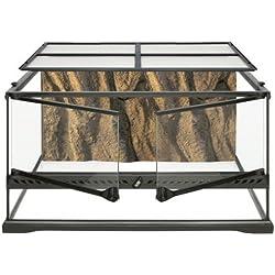 Exo Terra Short All Glass Terrarium, 24 by 18 by 12-Inch
