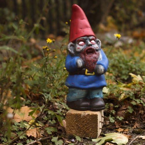 thumbsUp! ZOMBGNOM Gnomo Zombi, 11.5x10x28.5 cm: Amazon.es: Jardín