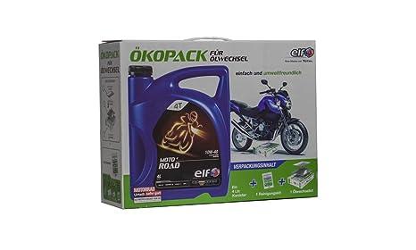 ELF - Ekoack para Cambio de Aceite: Amazon.es: Coche y moto