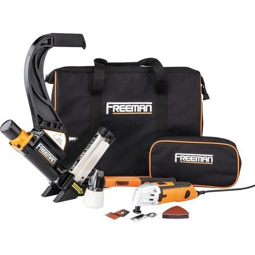 Freeman P50MTCK Flooring Nailer Kit with Oscillating Tool by Freeman
