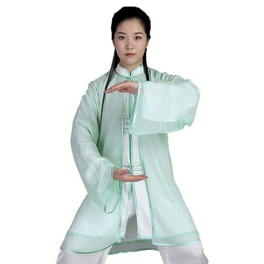 Tai Chi Uniforme Ropa De Entrenamiento para Mujer Ropa De Kung Fu ...