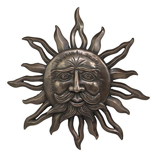 Ebros Celtic Mythology Belenos Celestial Solar Radiant Celtic Sun God Wall Hanging Decor 14.5