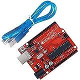IEIK UNO R3 Board ATmega328P with USB Cable Compatible for Arduino