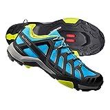 Shimano SH-MT34B Gentlemen blue (Size: 48) Trekking bike Shoes