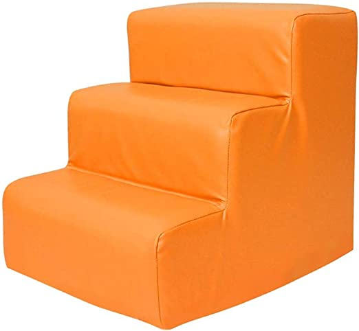 DIAOSI PU Bebé Vaya a la Cama Escaleras Escalera para Mascotas Los niños suben escalones Taburetes Altos Escaleras para Mascotas 6 Colores Opcionales Área de Juegos recreativos (Color : Orange): Amazon.es: Productos