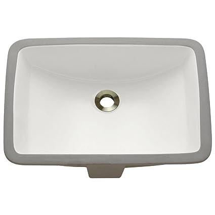 Genial U1913 Bisque Undermount Porcelain Bathroom Sink, Sink Only