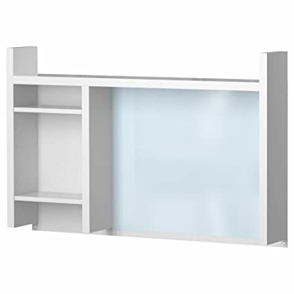IKEA ASIA MICKE - Complemento Alto, Color Blanco: Amazon.es ...