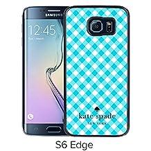 Samsung Galaxy S6 Edge Kate Spade 26 Black screen cellphone case Luxurious and Grace design