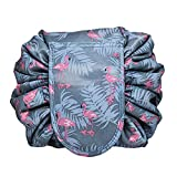 Drawstring Lazy Makeup Bag Waterproof Toiletry Bag Fashion Travel Organizer Large Cosmetic Pouch