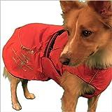 Hurtta Winter Dog Jacket – Red Size 20″ length x 28-30″ girth, My Pet Supplies