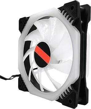 Caso del Ventilador Serie sin Hilos del RGB LED RGB de 120 mm ...