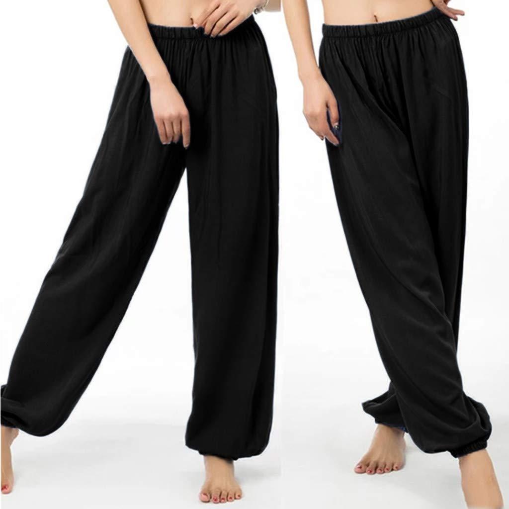 FEIVO Yoga Pants Womens Loose Casual Long Fashion Printing Comfy Sports Pants Women/'s Loose Casual Long Fashion Printing Comfy Sports Pants