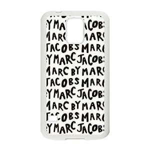 caso de Marc Jacobs L6Y14G8HV funda Samsung Galaxy S5 funda 1X40N2 blanco