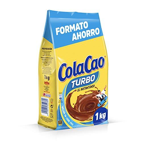 ColaCao Turbo: con cacao instantáneo y sin grumitos - Envase de 1000 gramos - Formato Ahorro